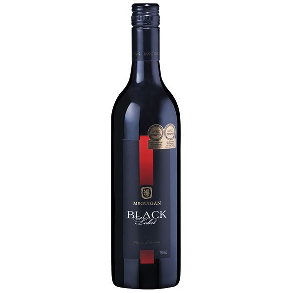 It is a graphic of Effortless Mcguigan Black Label Shiraz Price
