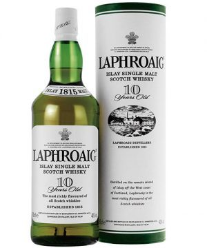 Laphroaig 10 Year Old Whisky 700ml